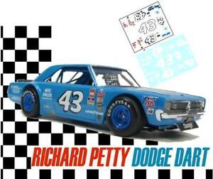 CD_3871-C #43 Richard Petty   Dodge Dart  1:64 Scale DECALS