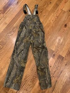 Outfitters Ridge Realtree Hardwood Bibs Youth XL