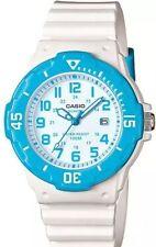 Casio LRW200H-2BV, Women's Analog White Resin Band, 100 Meter, Date