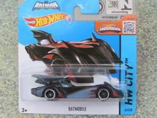 Hot Wheels 2015 #063/250 BATMOBILE  Batman red stripes
