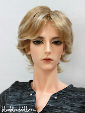 "1/3 bjd 9-10"" doll head 2 color mixed synthetic mohair wig Soom Taeyan W-176XL"