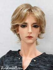"1/3 bjd 9-10"" doll head 2 color mixed synthetic mohair wig Soom Taeyan W-176XL"