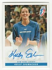 2007 WNBA Authentic Original Autograph Kelly Schumacher New York Liberty