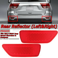 Rear Bumper Reflector Fog Light Cover For Jeep Compass Grand Cherokee Journey