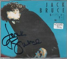 CD JACK BRUCE AUTOGRAFATO-SHIPS IN THE NIGHT-GERMANY