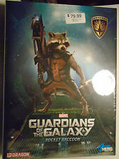 Dragon #38130 Marvel Guardians Of The Galaxy Rocket Raccoon New In Sealed Box
