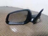 2014 BMW 1 Series F20 11-15 5 Door BLACK N/S Passenger Electric Door Wing Mirror