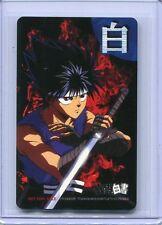 Yu Yu Hakusho Japanese Phone Card Hiei Unused Rare!