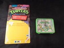 Teenage Mutant Ninja Turtles Retro Alarm Clock by HOPE with Card Backing TMNT
