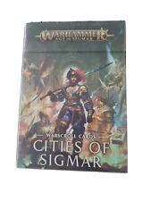 Cities Of Sigmar Warscroll Cards NIB