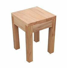 Beistelltisch, Holztisch  Kernbuche massiv .Maße :30x30x50cm hoch.