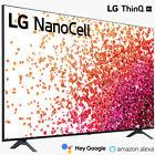 LG NanoCell 75 Series HDR 4K UHD LED Smart webOS TV (2021 Model)  - Choose Size