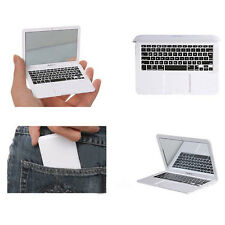 Premium Silver Pocket MacBook Air Laptop Clear Glass Women Cosmetic Mirror Cool