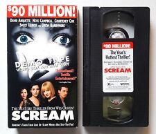 1996 SCREAM HORROR MOVIE VHS (RARE PROMO SCREENER VERSION DEMO TAPE)