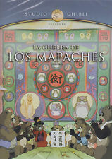 DVD - La Guerra De Los Mapaches NEW Pompoko Hayao Miyazaki FAST SHIPPING !