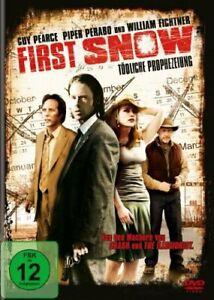 First Snow - Guy Pearce, Piper Perabo, William Fichtner NEW UK REGION 2 DVD PAL