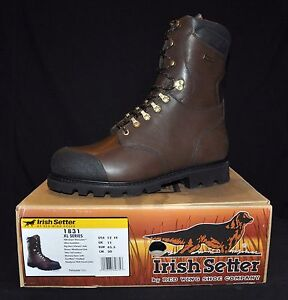 NIB IRISH SETTER 1831 XL SERIES 400 GRAM THINSULATE 100% WATERPROOF HUNTING BOOT