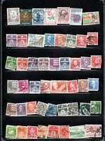 DANMARK ASSORTMENT OF 49 ITEMS GENUINE AND DIFFERENT VERY NICE LOT #2020DE01