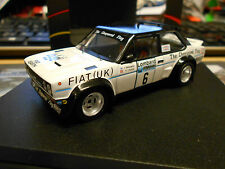 FIAT 131 Abarth Rallye WM RAC 1977#6 Mäkinen Fiat UK Chequered Flag Trofeu 1:43