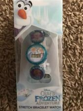 New Disney Frozen stretch bracelet Watch LCD Elsa Anna Olaf
