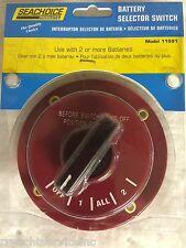 BATTERY SWITCH DUAL BATTERIES 11591 SEACHOICE MARINE BOAT MAIN BOATINGMALL EBAY