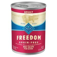 Blue Buffalo Freedom Grain Free Adult Beef Recipe Dog Food 12.5 oz - 12 pk