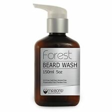 Organic Beard Shampoo Wash Contains Vitamins Beard Care 150 ml Men Salt Free