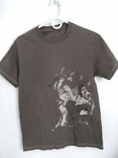 Men's Size S Astro Brand High Quality Made In Canada Gray Samurai Tiger T-Shirt