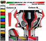 """Kit adesivi personalizzabili per cupolino e parafango - Moto Bmw s1000RR """"V337"""""""
