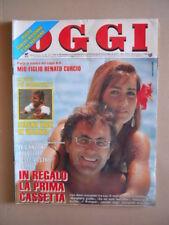 OGGI n°30 1990 Albano Rimona Power Oriana Fallaci Bud Spencer Rivera [G798]