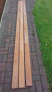 Bretter Pitch Pine 360 x 96 x 20 gebraucht, ohne Nut und Feder