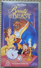 Walt Disney's Beauty and the Beast VHS