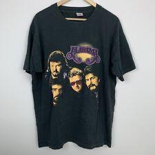 Vtg Alabama Band T Shirt Sz Xl Country Music Single Stitch 90s Fruit Of The Loom