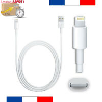 CHARGEUR POUR IPHONE X 8 7 6S 6 PLUS 5 5S 5C SE CABLE USB DATA SYNCHRO IPAD AIR