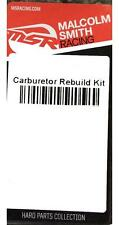 MSR Carburetor Carb Rebuild Kit for Suzuki 1996-01 RM 80 RM80 343669