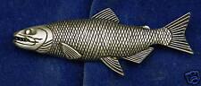 Empire Pewter Chinook Salmon Fish Pin