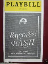 Playbill Encores! Bash  Bebe Neuwirth Sandy Duncan Emily Skinner Ron Raines 2003