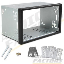 XTRONS UNIVERSAL Double 2 DIN CAR STEREO CAGE SURROUND FITTING KIT REPLACEMENT