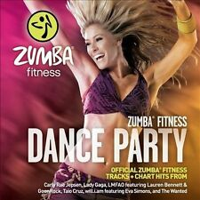 ZUMBA FITNESS DANCE PARTY BY ZUMBA FITNESS DANCE PARTY CD NEW SEALED