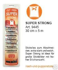 Super Strong 5 m Stickvlies wei�Ÿ extra stark Madeira