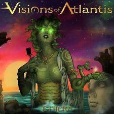 Visions of Atlantis - Ethera CD 2013 limited digipack bonus track power metal
