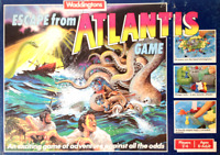 Vintage Waddingtons Escape From Atlantis Board Game - Spares Replacement Parts