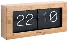 Karlsson in Scatola Flip Clock-grande in bambù
