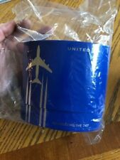 UNITED AIRLINES 747 COMMEMORATIVE POLARIS BUSINESS CLASS AMENITY KIT