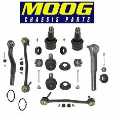 Ford Excursion F-250 4WD Complete Suspension Kit Tie Rod Ends Ball Joints MOOG