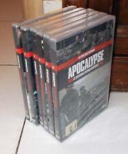Serie 6 Dvd APOCALYPSE La Seconda Guerra Mondiale WWII Cinehollywood 2010 NUOVO