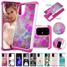 For Samsung Galaxy S20 Ultra S20 Plus Pattern Shockproof Hybrid Hard Case Cover