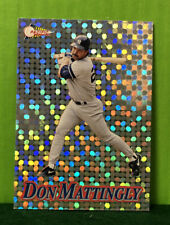 1994 Don Mattingly Pacific Silver Prisms #10 Refractor. NM-MT NY Yankees