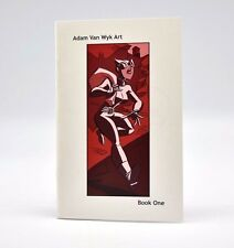 Adam Van Wyk Art Book One Sketchbook Comics Graphic Art Signed Numbered