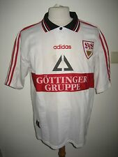 VfB Stuttgart SIGNED home football shirt soccer jersey fussball trikot size XL